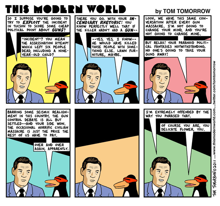 Tom Tomorrow on Guns